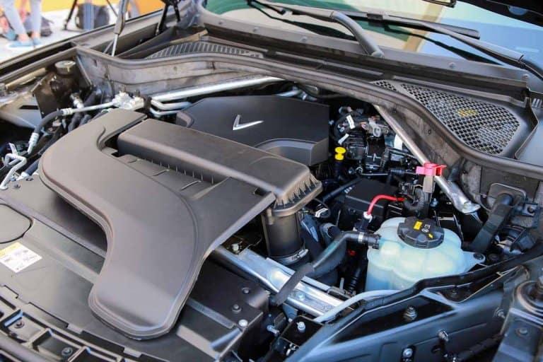 Khoang động cơ xe VinFast Lux SA2.0