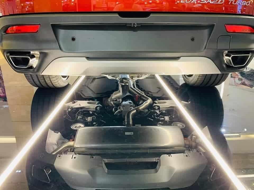 Hệ thống khung gầm và hệ thống treo của xe VinFast Lux SA2.0