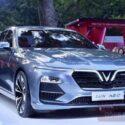 xe vinfast lux a bản nâng cao màu bạc de sat silver