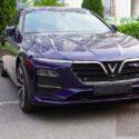 xe vinfast lux a màu xanh luxury blue