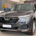xe vinfast lux sa bản tiêu chuẩn màu xám neptune grey