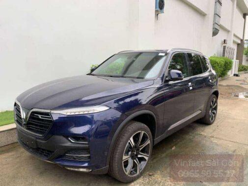 xe vinfast lux sa bản tiêu chuẩn màu xanh blue