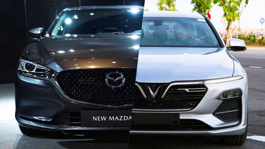 So sánh VinFast Lux A2.0 và Mazda 6