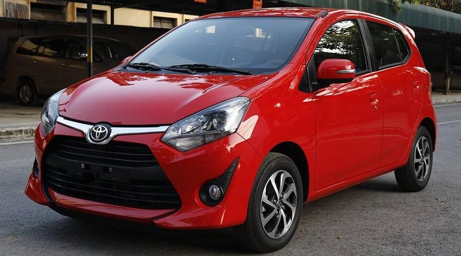 Toyota Wigo thiết kế tiện dụng