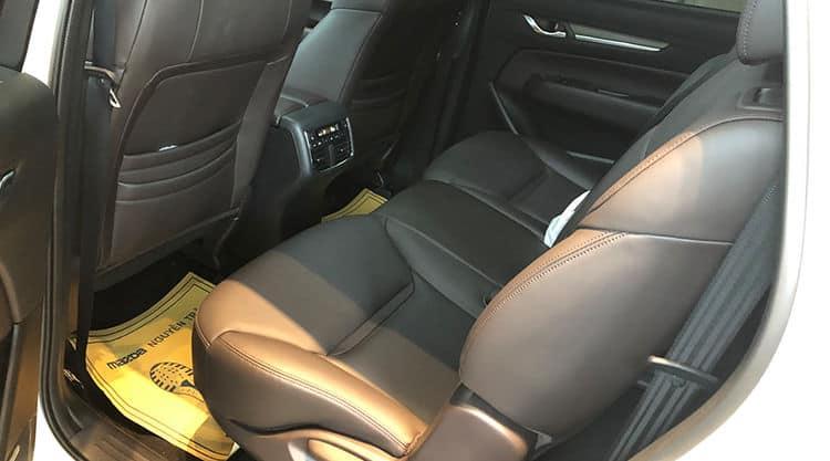 Mazda CX-8 hàng ghế sau rộng rãi