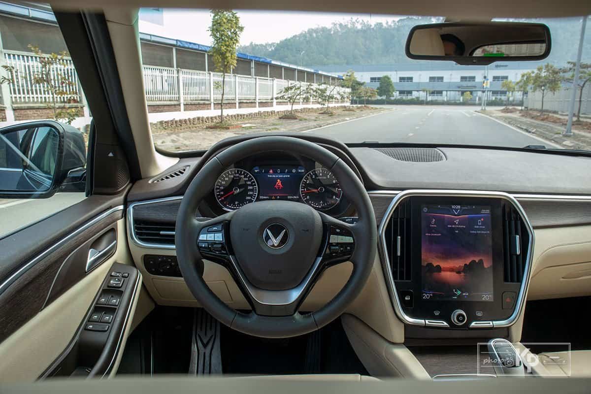 Ảnh Khoang nội thất xe VinFast Lux SA2.0 2021