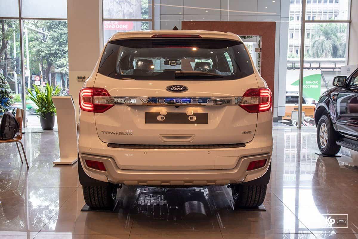 Ảnh Đuôi xe Ford Everest 2021