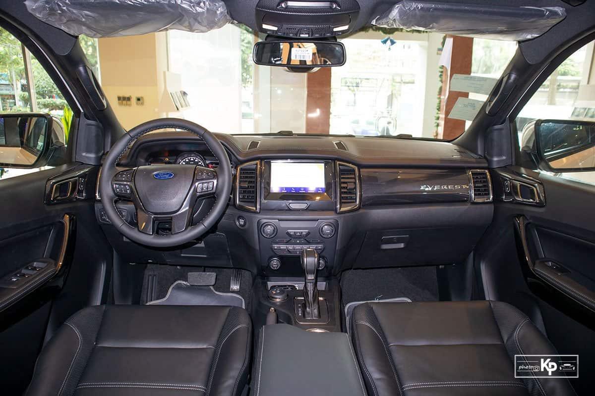 Ảnh Khoang nội thất xe Ford Everest 2021