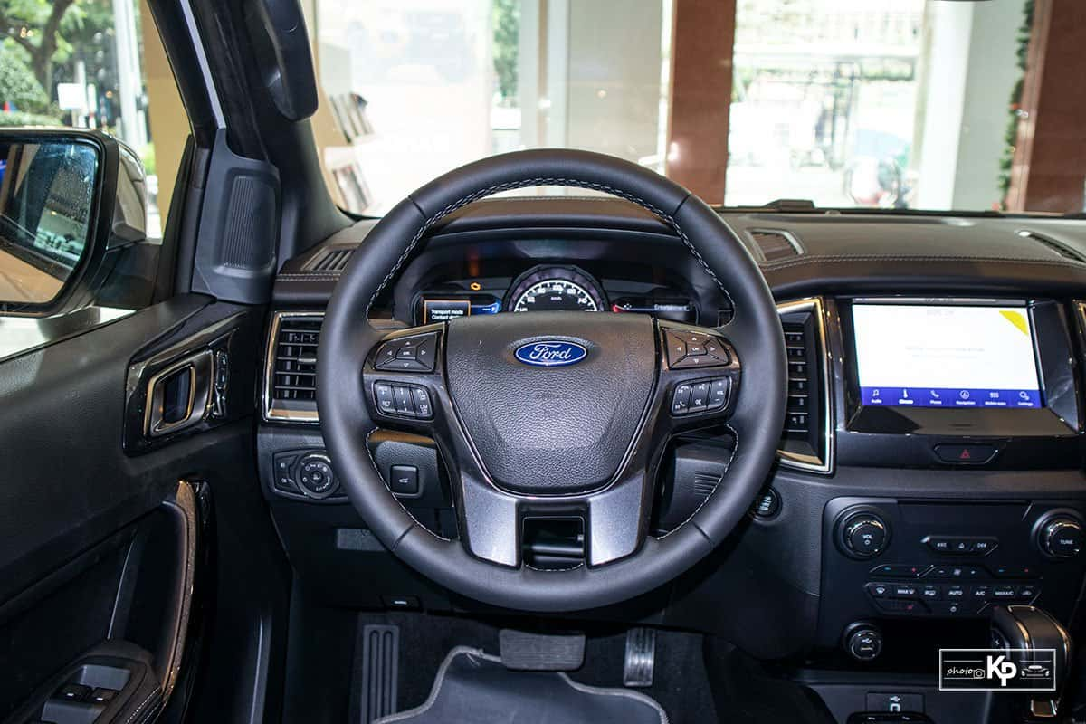 Ảnh Vô-lăng xe Ford Everest 2021