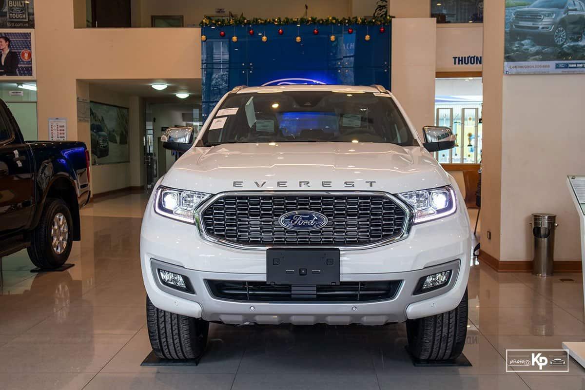 Ảnh đầu xe Ford Everest 2021