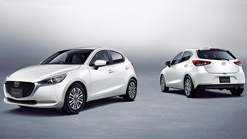 Chi tiết những thay đổi mới trên Mazda 2 2020 - Sedan và Hatchback