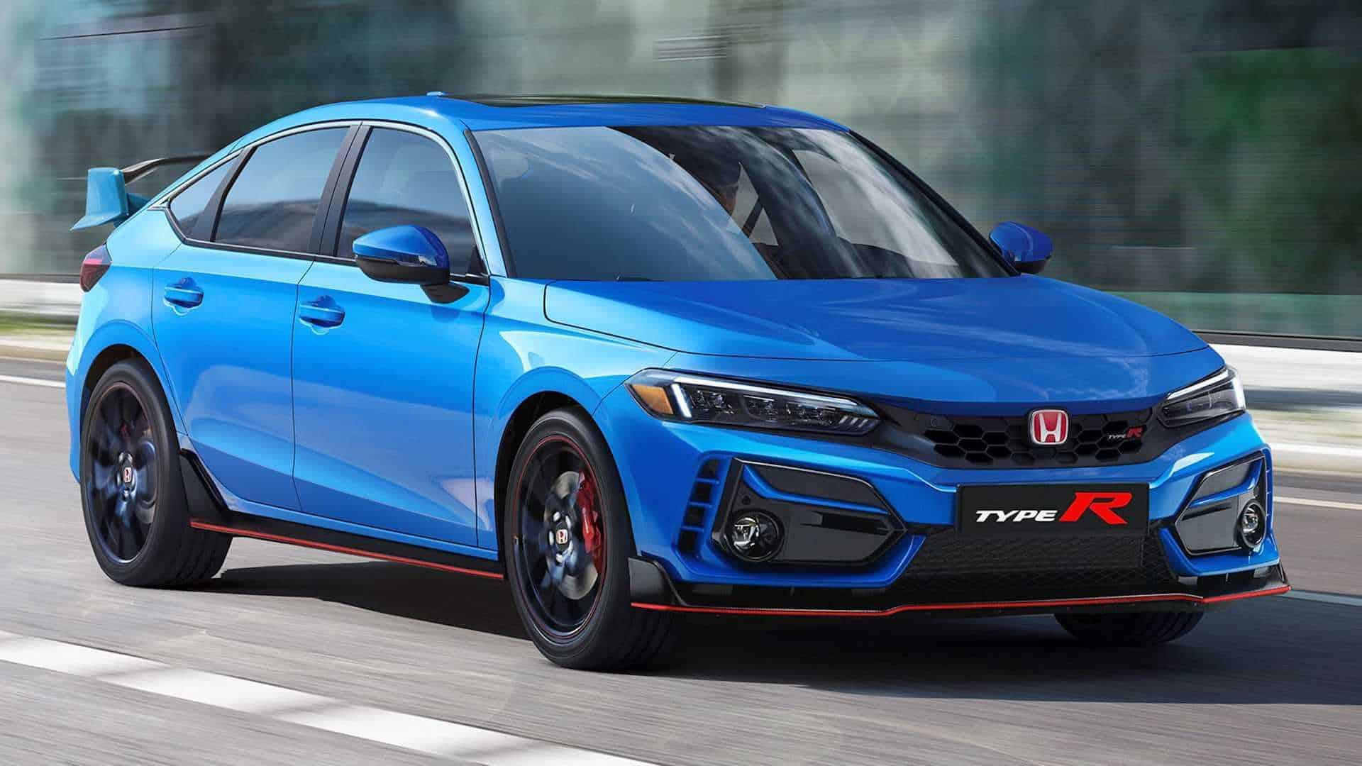 Cận cảnh Honda Civic Type R 2023 phía sau lớp vỏ ngụy trang bí ẩn