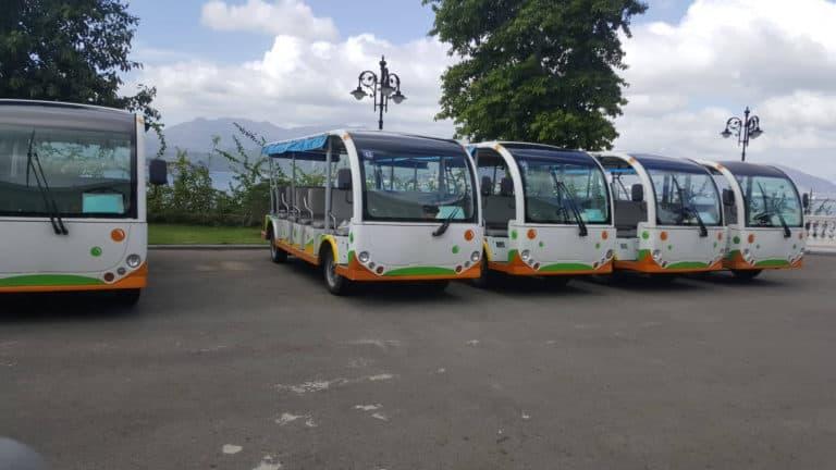 5 xe điện chuyên chở khách đi du lịch
