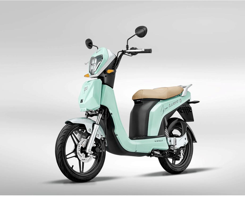 Xe máy điện VinFast Ludo Mint To Be - Phiên bản giới hạn