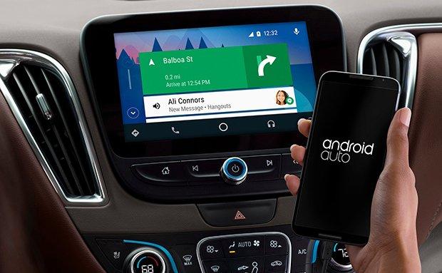 Android auto trên ô tô Vinfast