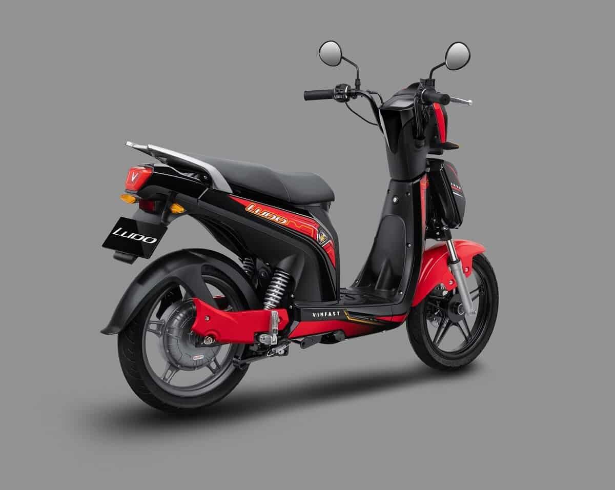Xe máy điện VinFast Ludo rất tiết kiệm nhiên liệu