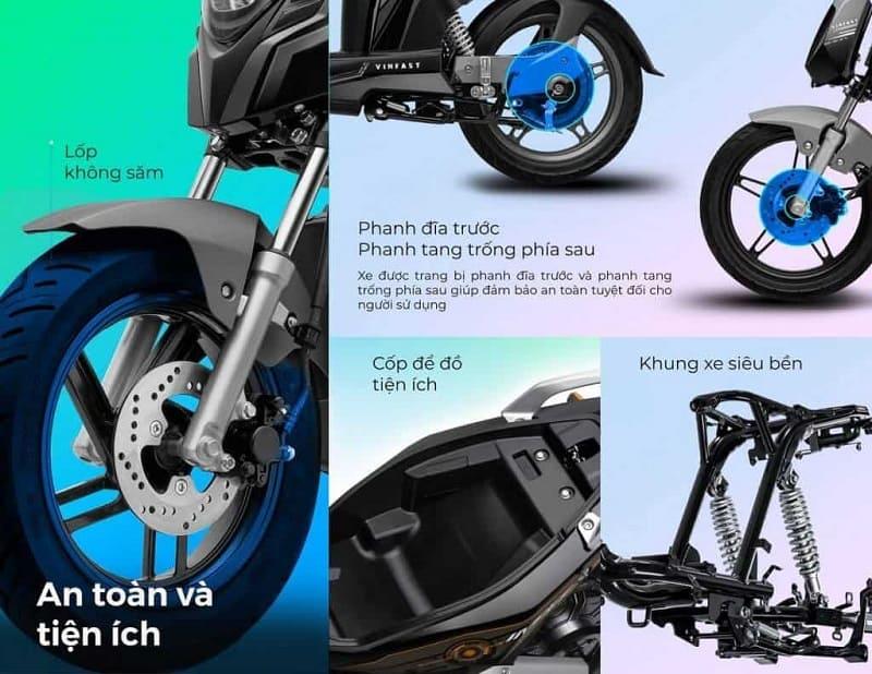 Trang bị các chức năng và tiện ích thông minh trên xe máy điện VinFast Impes