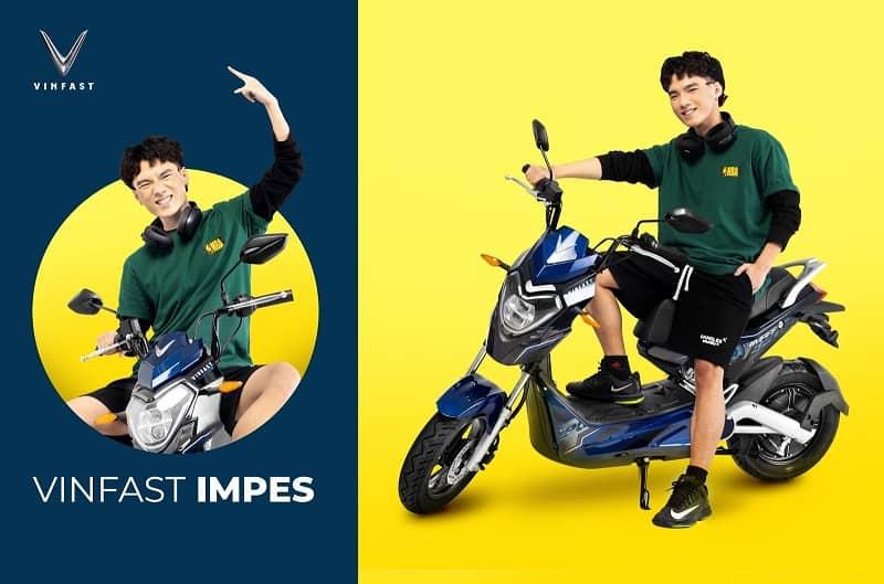 Xe máy điện VinFast Impes sở hữu thiết kế hiện đại với những đường nét đậm chất thể thao
