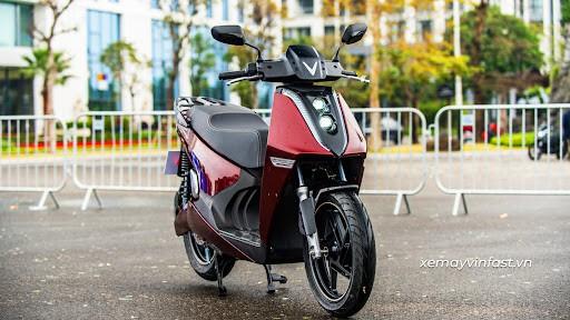 VinFast Theon Xe máy điện VinFast cao cấp nhất cạnh tranh Honda SH