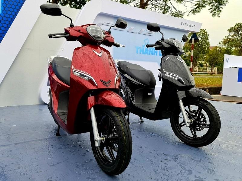Thiết kế mẫu xe máy điện VinFast Feliz hướng đến đối tượng khách hàng trẻ.
