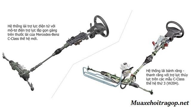 So sánh 2 hệ thống trợ lực lái thủy lực và điện trên xe ô tô