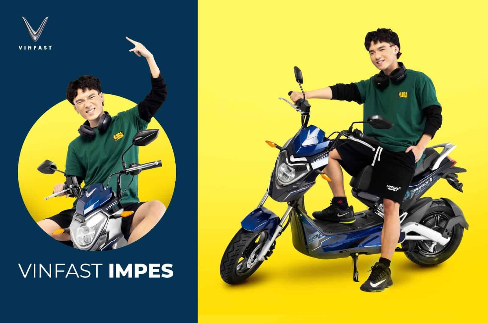 VinFast Impes sở hữu kiểu dáng hiện đại đầy cá tính