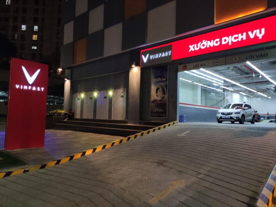 Xưởng dịch vụ của VinFast Sài Gòn