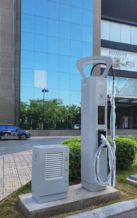 trạm sạc siêu nhanh xe điện vinfast
