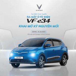 livestream xe điện vinfast vf e34